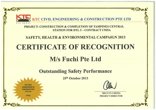 Fuchi | Awards & Certifications